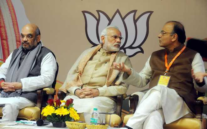 BJP's huge Win manner it'll also Inherit The Congress' Curse