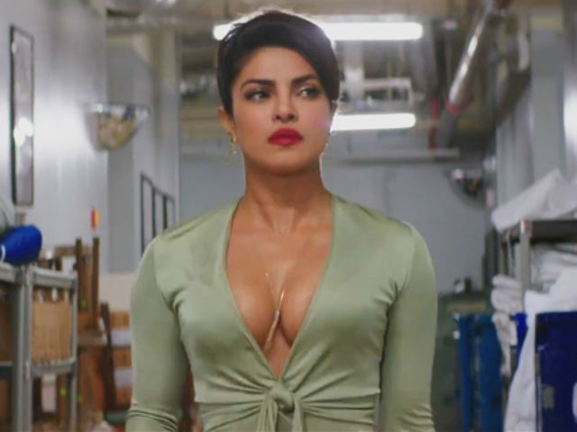 Baywatch Poster: Priyanka Chopra Wears some thing crimson. it's not What you believe you studied