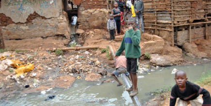 Inspiring story Of Kibera Kenya, A mother's life within the Kibera slum Image Source Pinterest