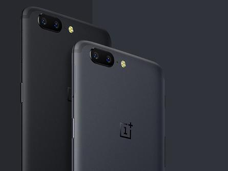 The cellphone OnePlus five is slim at 7.25mm and might be available in two versions- Midnight Black and Slate Grey. Image Source The economics times