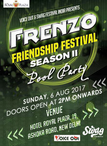 Swag Festival Presents - The Most Awaited Pool Party Of The Season on this friendship day 2017.Image Source BookMyEvent