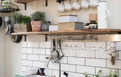 Multiple smart Solutions for amazing small kitchens. Image Source herbeauty